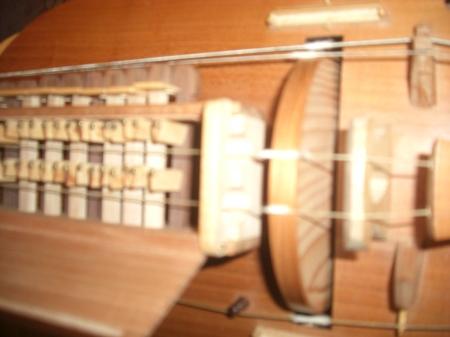 A hurdy gurdy...